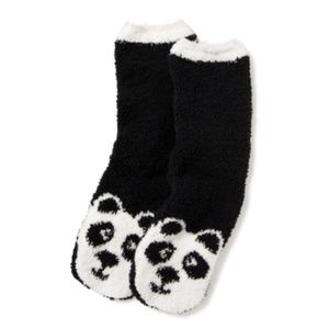 Accessories - fluffy panda socks